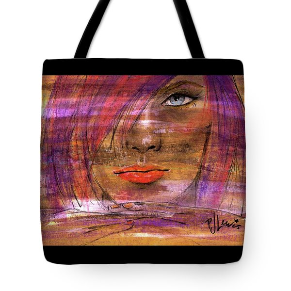 Tote Bag featuring the painting Fadding Away by P J Lewis