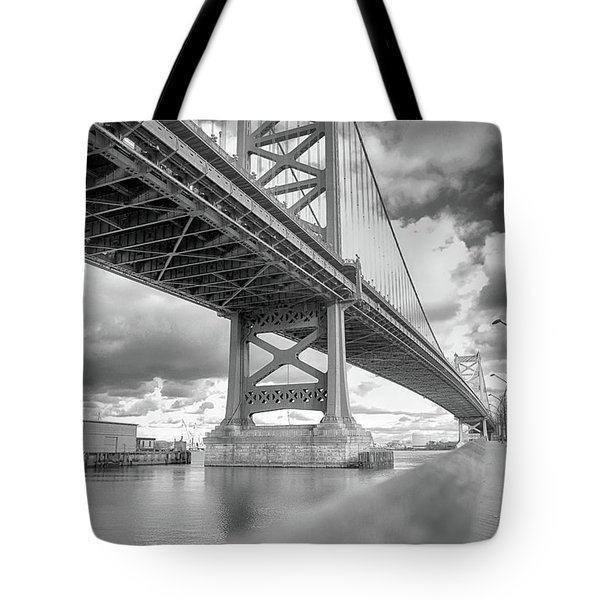 Fade To Bridge Tote Bag