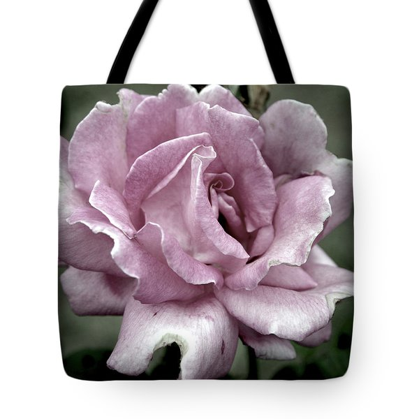 Faded Beauty Rose 0226 H_2 Tote Bag