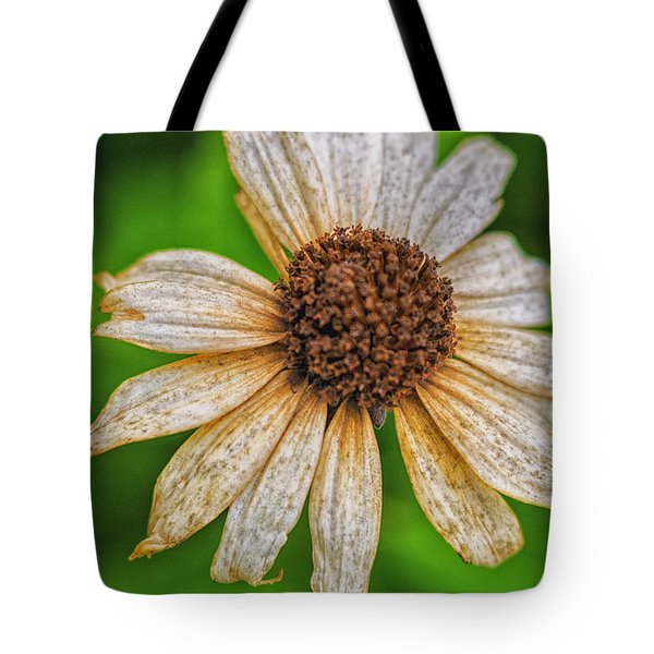 Faded Cone Flower Tote Bag