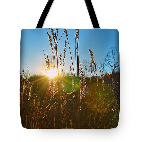 Tote Bag featuring the photograph Faded Day by Nikki McInnes