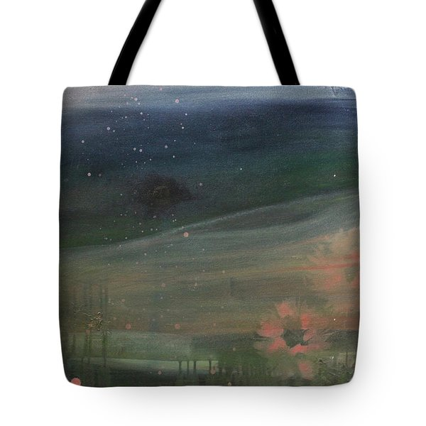 Tote Bag featuring the painting Faded Days Gone By by Robin Maria Pedrero