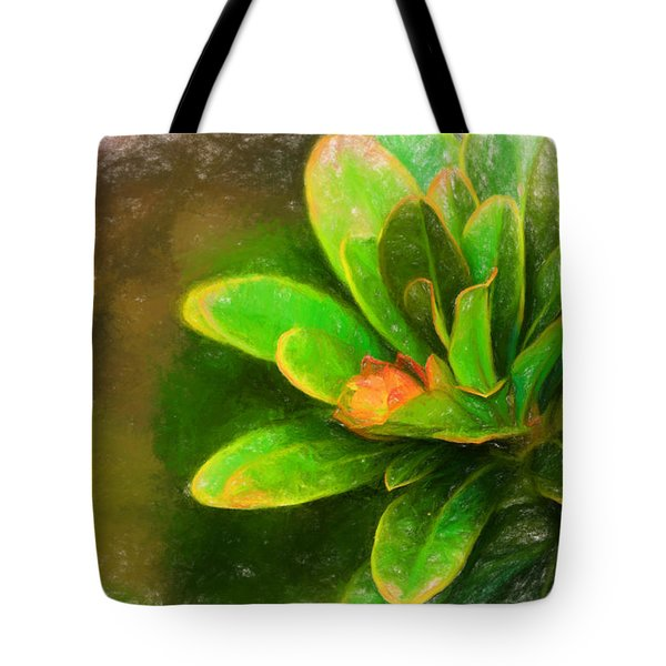 Faded Flora Tote Bag