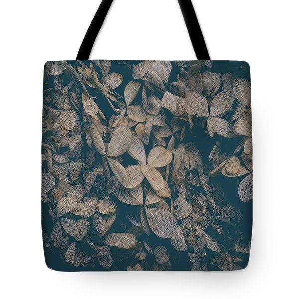 Tote Bag featuring the photograph Faded Flowers by Edward Fielding