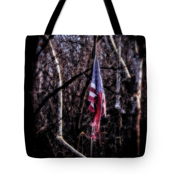 Tote Bag featuring the photograph Faded Glory by Alan Raasch