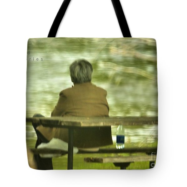 Tote Bag featuring the photograph Faded Memories by Debbie Stahre
