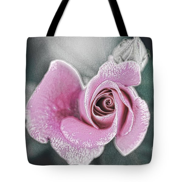 Faded Romance Tote Bag