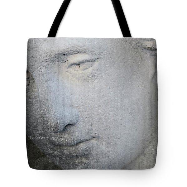 Faded Statue Tote Bag