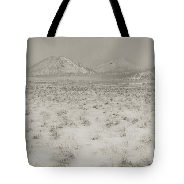 Faded Storm Tote Bag by Scott Sawyer