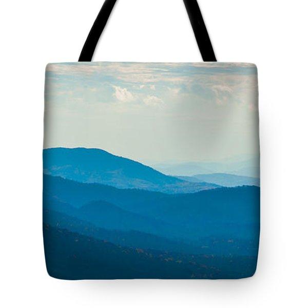 Fading Appalachians Tote Bag