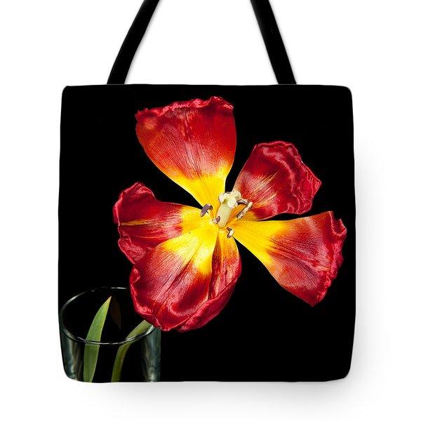 Fading Beauty Tote Bag
