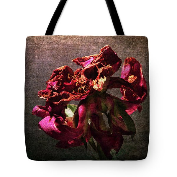 Tote Bag featuring the photograph Fading Glory by Randi Grace Nilsberg