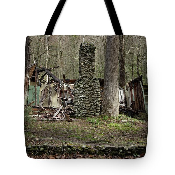 Tote Bag featuring the photograph Fading Into Tomorrow by Mike Eingle