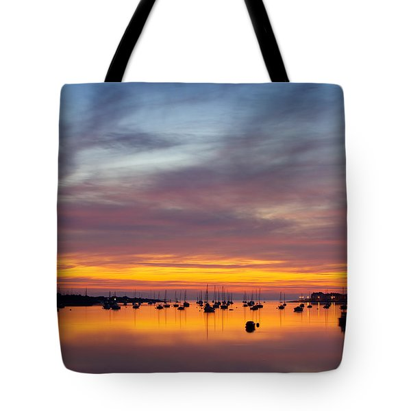Fading Light, Conwy Estuary Tote Bag