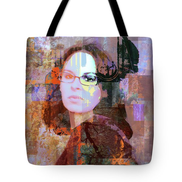 Fading Memory Tote Bag by Robert Ball