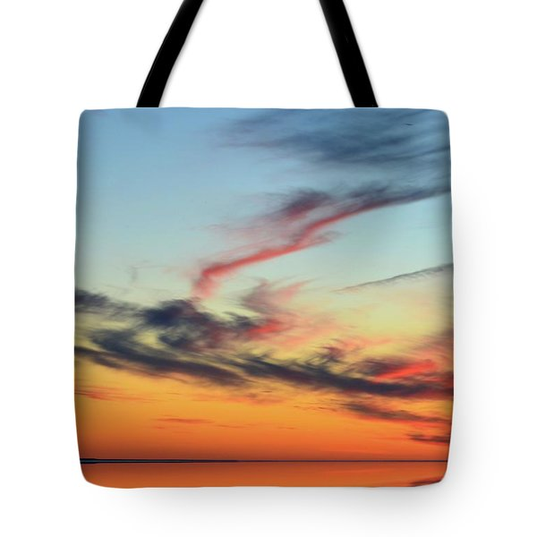 Fading Pink Reflection  Tote Bag