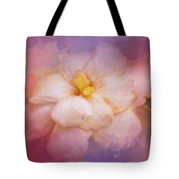 Fading Summer Flower Tote Bag