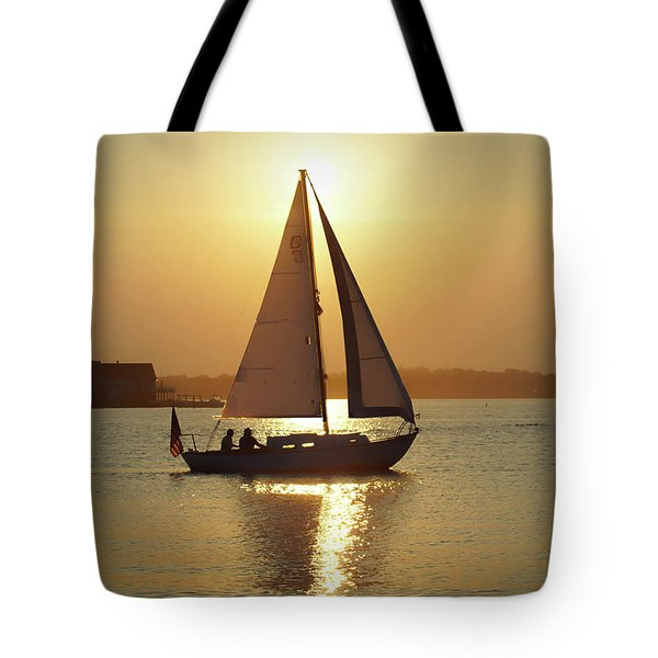Fading Sun Tote Bag
