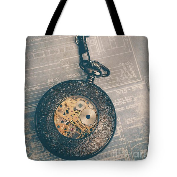 Tote Bag featuring the photograph Fading Time by Edward Fielding