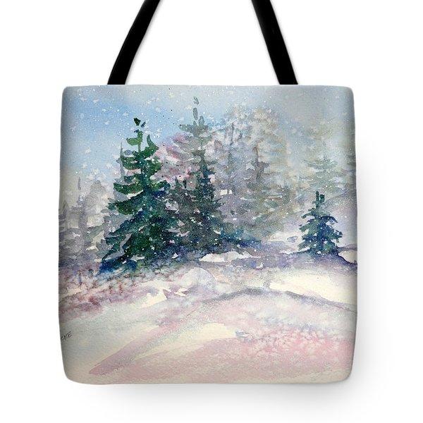 Fading Winter Light Tote Bag