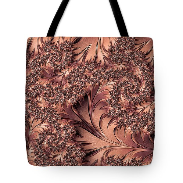Tote Bag featuring the digital art Faerie Forest Floor I by Susan Maxwell Schmidt