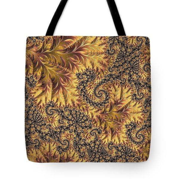 Tote Bag featuring the digital art Faerie Forest Floor II by Susan Maxwell Schmidt