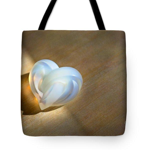 Faint Light Tote Bag