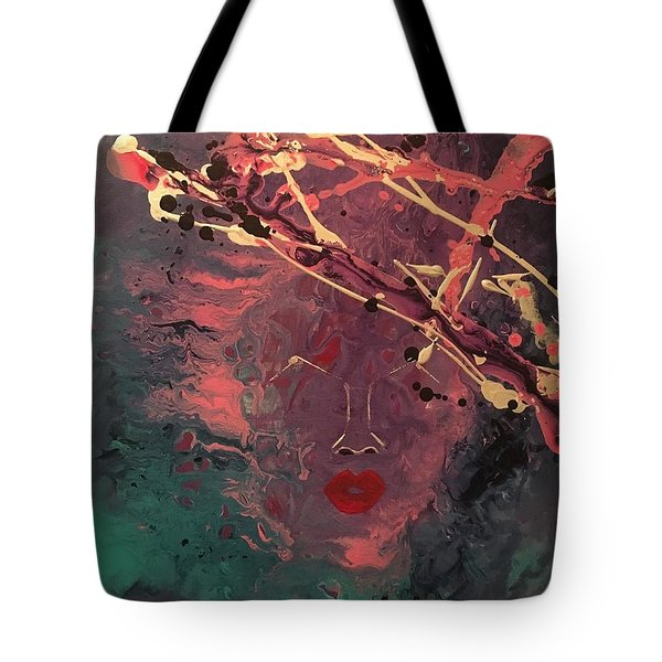 Illusion Of Her Tote Bag