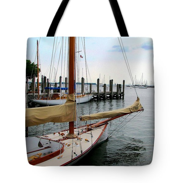 Fair Weather Annapolis  Tote Bag