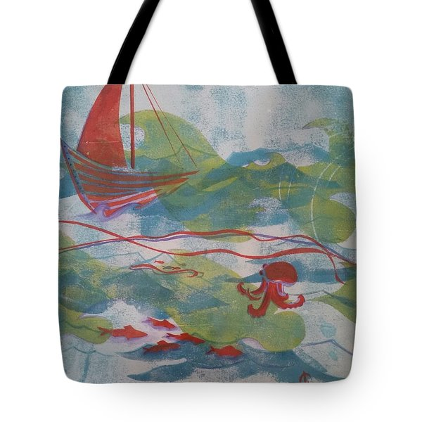 Fair Winds Calm Seas Tote Bag