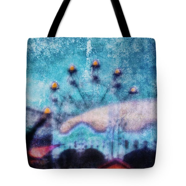 Fairground Innocence Tote Bag by Andrew Paranavitana