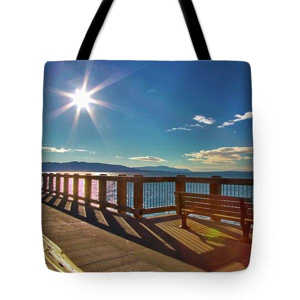 Fairhaven Boardwalk Tote Bag