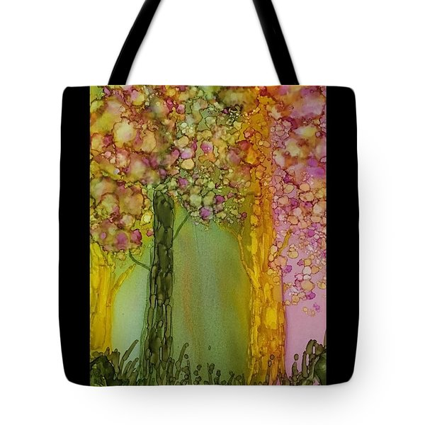 Fairie Forest Tote Bag by Suzanne Canner