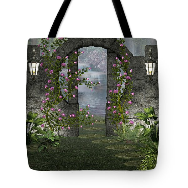 Fairies Door Tote Bag