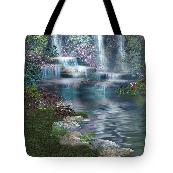Fairies Hidden Lake Tote Bag