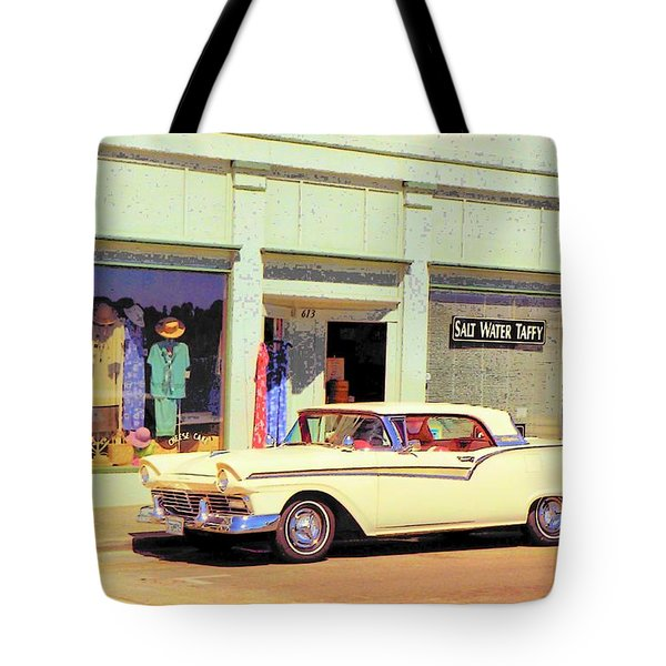 Fairlane 500 1957 Tote Bag
