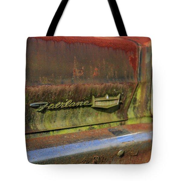 Fairlane Emblem Tote Bag