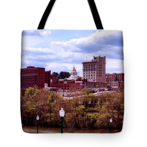 Fairmont West Virginia Tote Bag by L O C