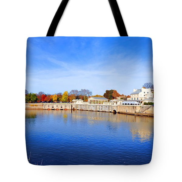 Fairmount Water Works - Philadelphia Tote Bag by Bill Cannon
