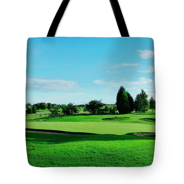 Fairway, Stirling Tote Bag by Jan W Faul