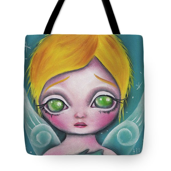 Fairy  Tote Bag by Abril Andrade Griffith