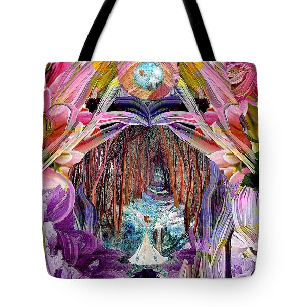 Fairy And Unicorn  Tote Bag