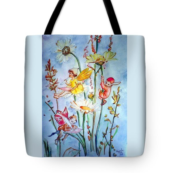 Fairy Babies Tote Bag