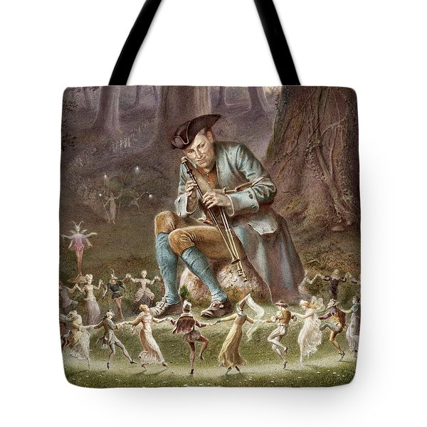 Fairy Dance Tote Bag by William Holmes Sullivan