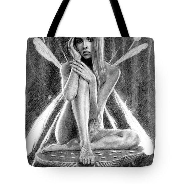 Fairy Drawing Tote Bag