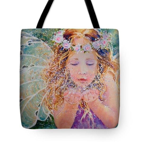 Fairy Dust Tote Bag by Nicole Gelinas