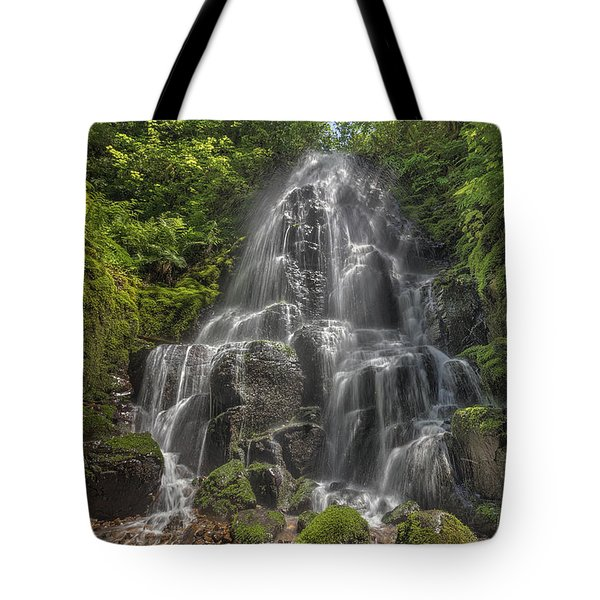 Fairy Falls On A Sunny Day Tote Bag by David Gn