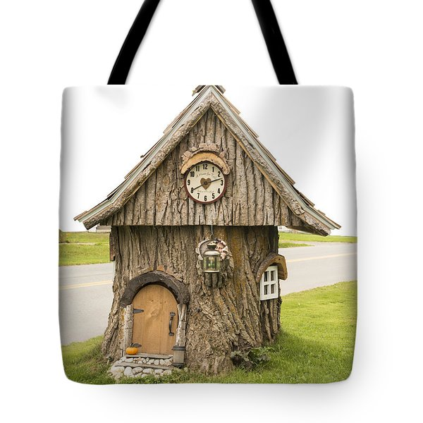 Fairy House In Vermont Tote Bag