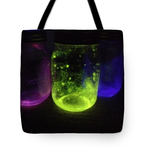 Fairy Jars Tote Bag by Shelby Burhans