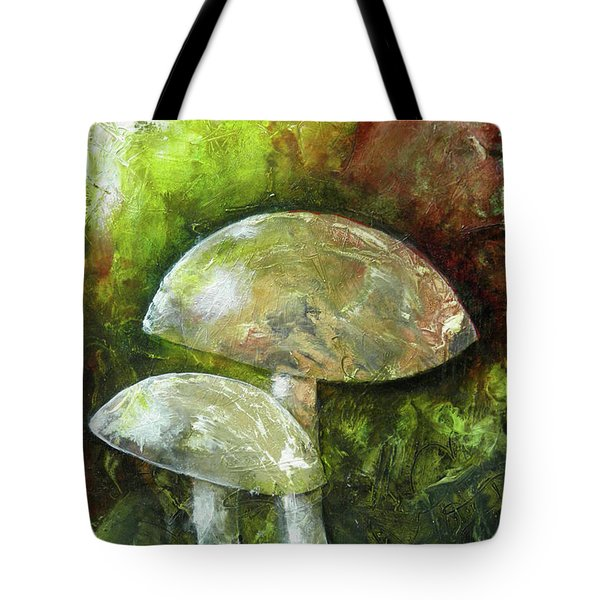 Fairy Kingdom Toadstool Tote Bag by Terry Honstead